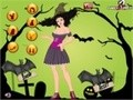 Игра Halloween Day Dress Up. Играть онлайн